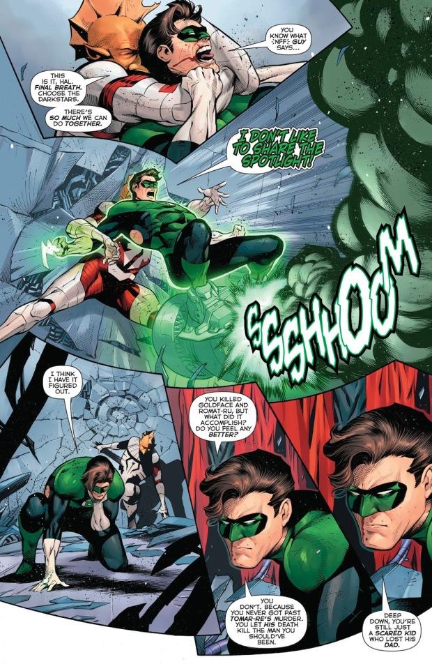 Green Lantern Hal Jordan VS Darkstar Tomar-Tu