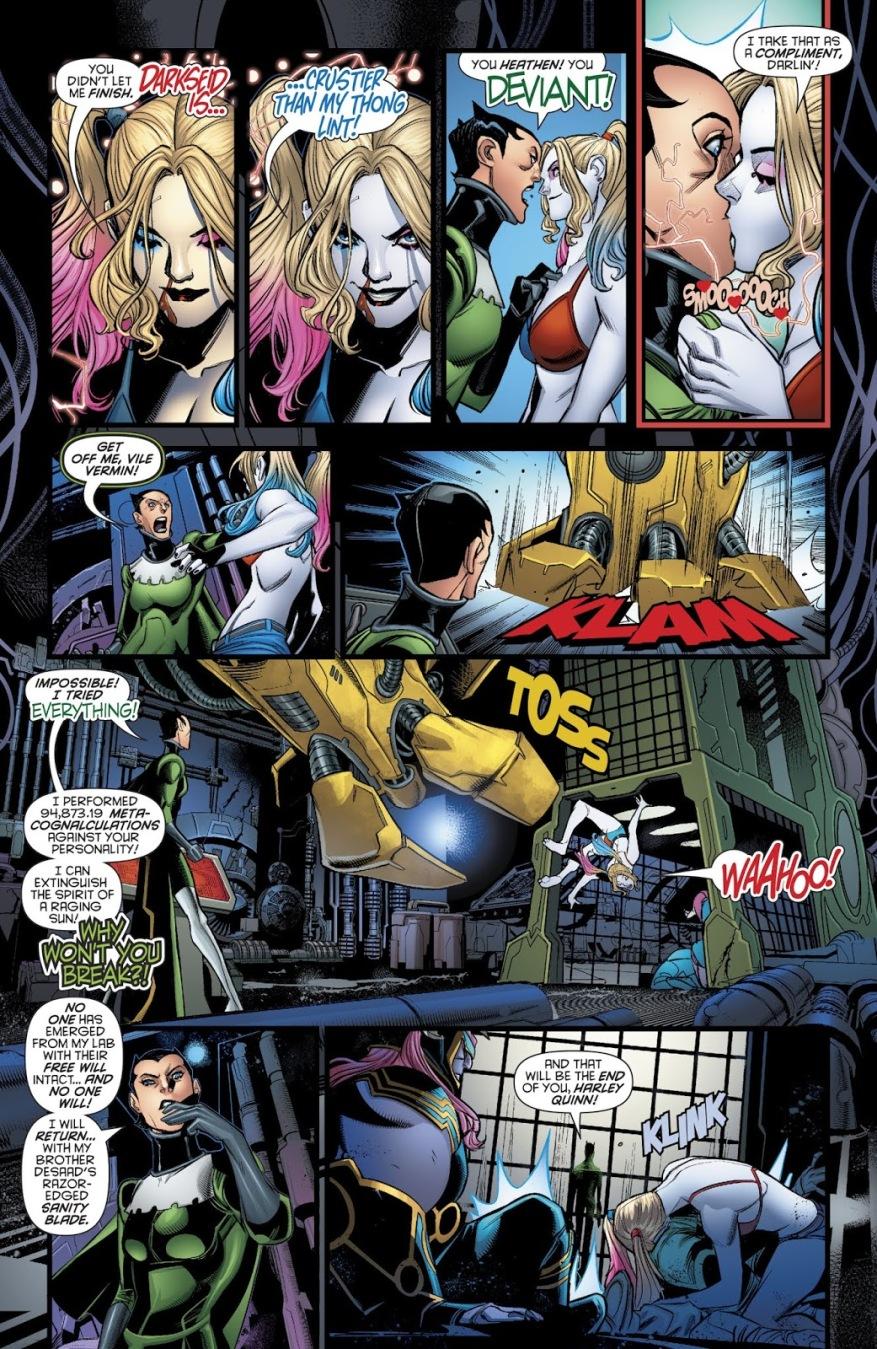 Harley Quinn Can Resist Apokolips Brainwashing