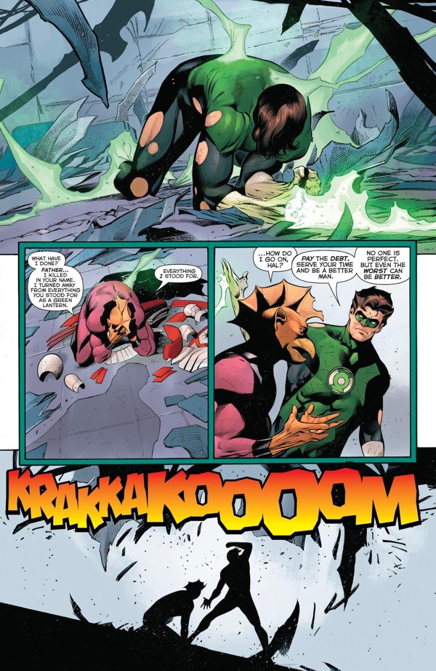 How Hal Jordan Took Down The Darkstars