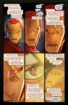 Iron Man Recruits The Sentry (Civil War)