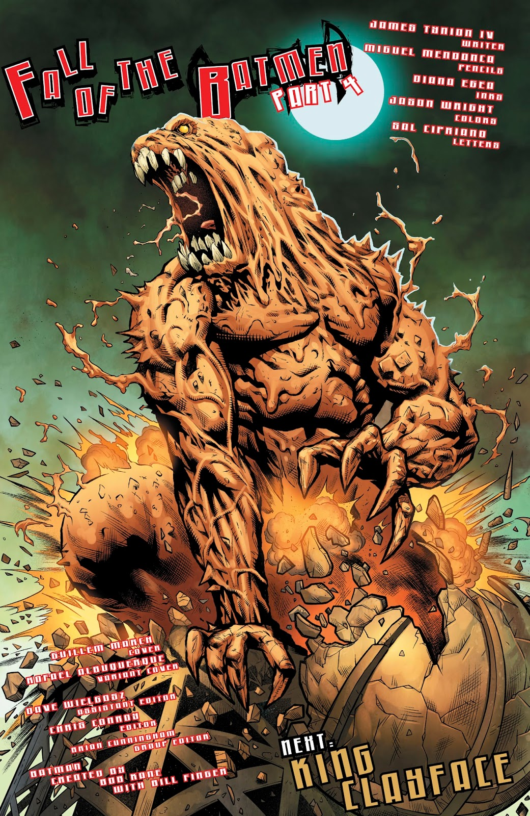 Clayface Dc Comics Yahoo Image Search Results: King Clayface (Detective Comics #972)
