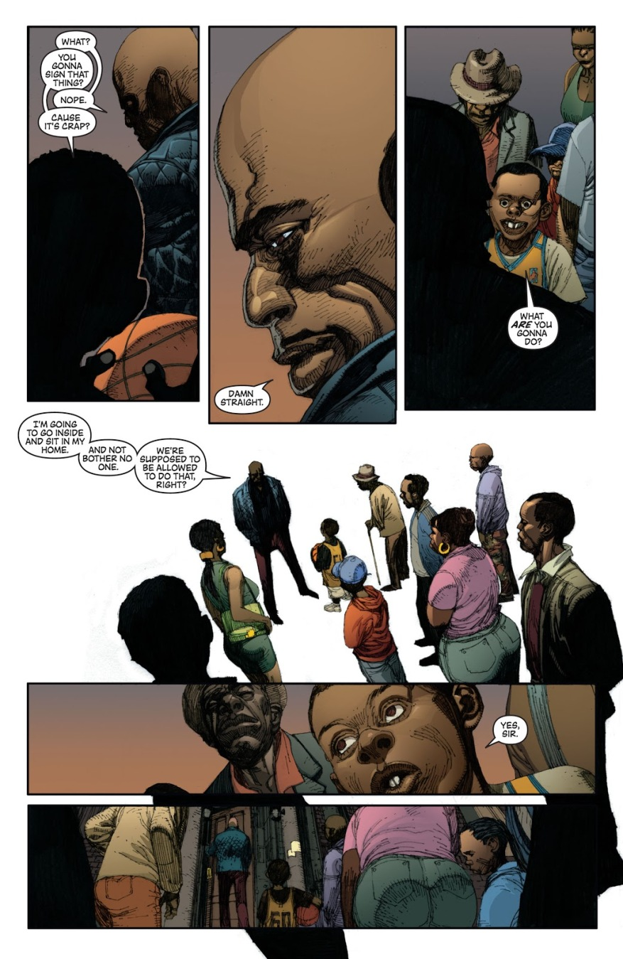 Luke Cage Doesn't Sign The Super-Human Registration Act