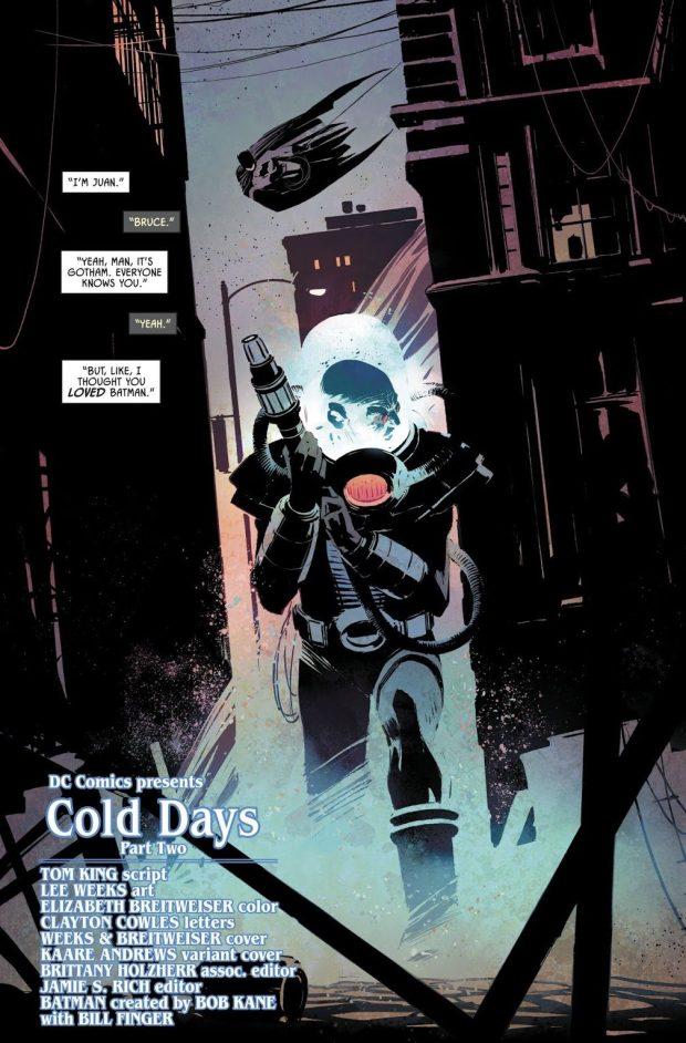 Mister Freeze (Batman Vol. 3 #52)