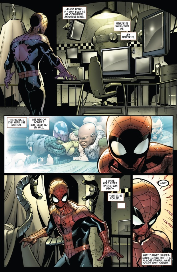 Superior Spider-Man's First Fight