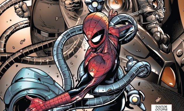 Superior Spider-Man's First Fight