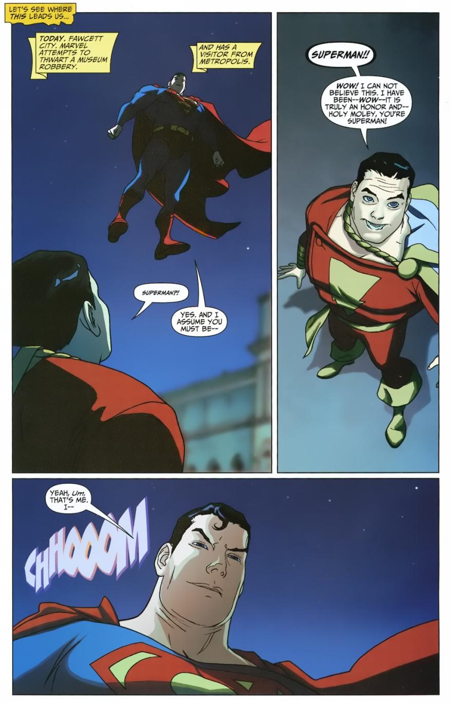 Superman And Captain Marvel VS Mallus Trolls