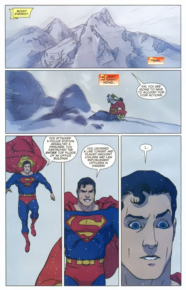 Superman Learns Captain Marvel's Secret Identity (First Thunder)