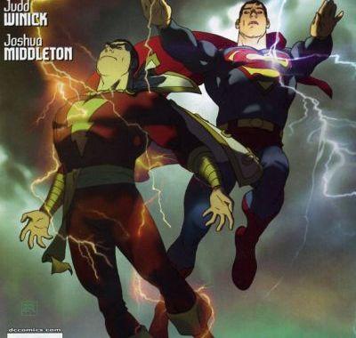 Superman Shazam first thunder