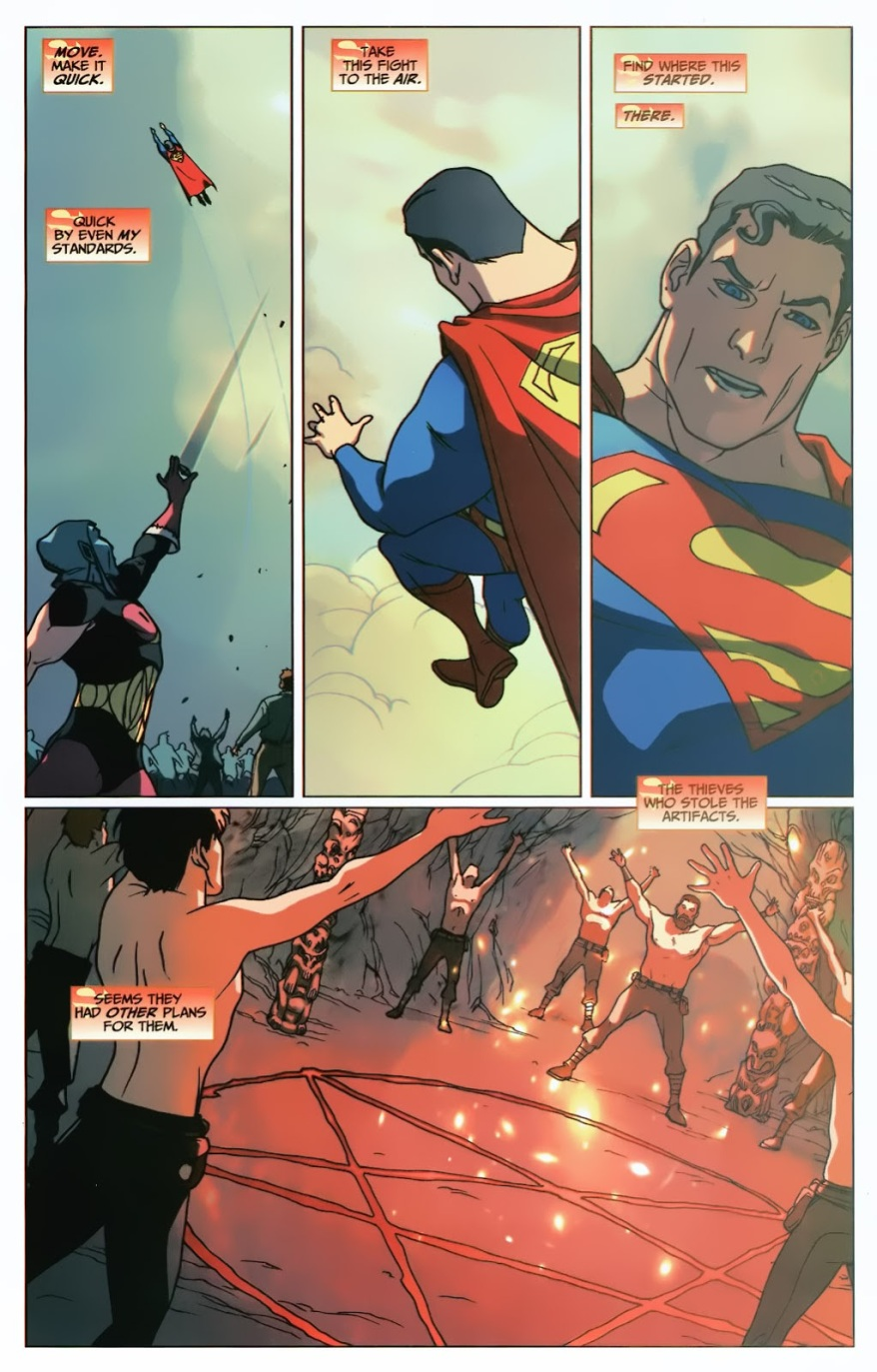 Superman VS Eclipso (First Thunder)