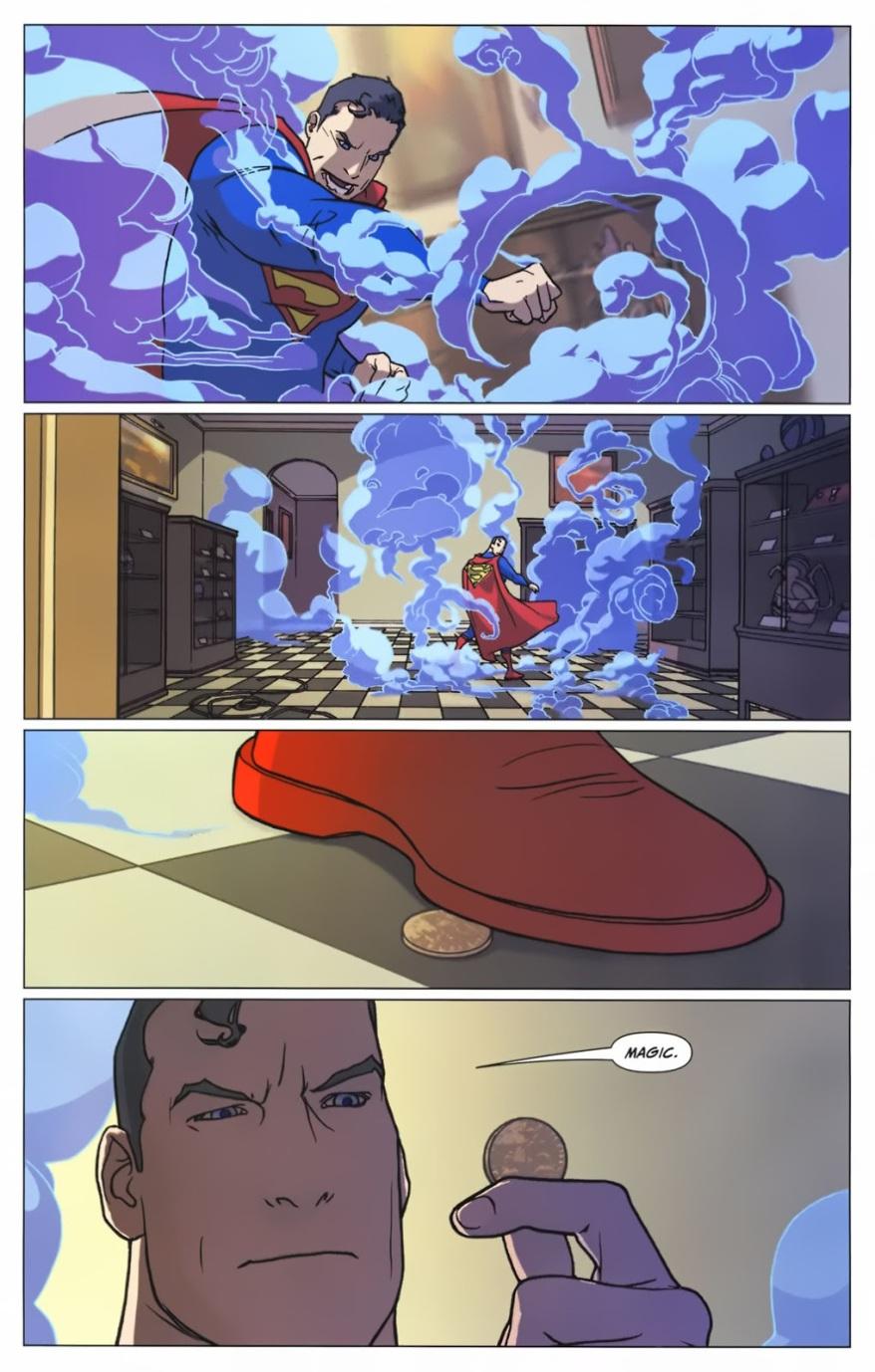 Superman VS Temple Of Bagdan Disciples