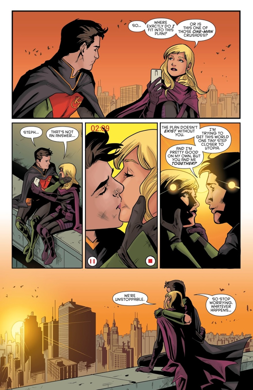Tim Drake And Stephanie Brown (Detective Comics #963)