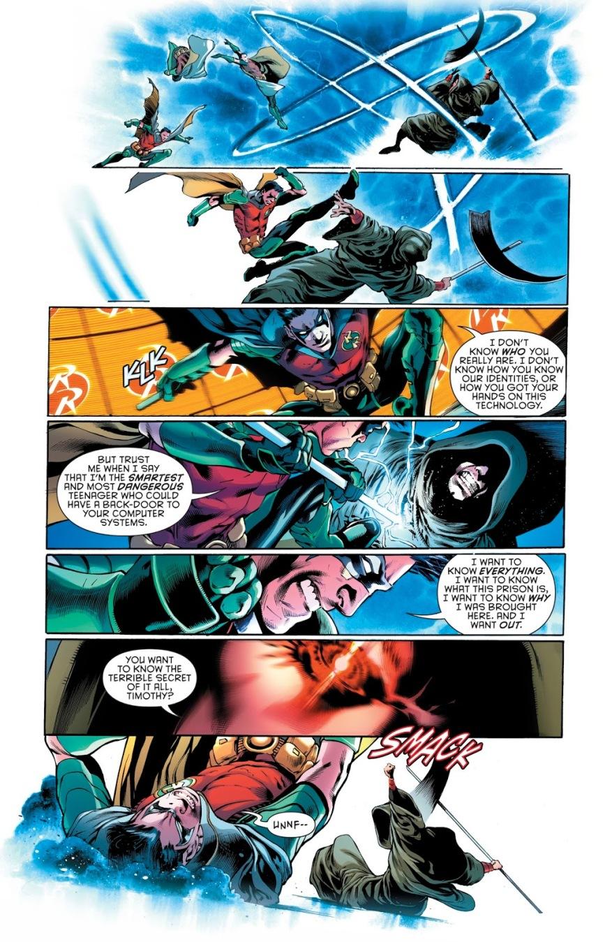Timothy Drake Can Code In Kryptonian