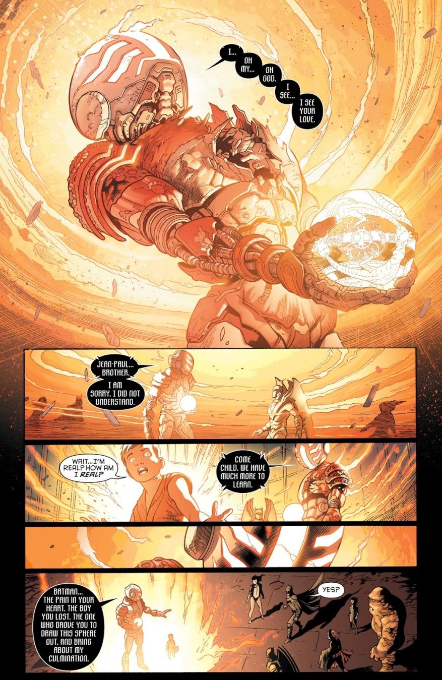 Zatanna Defeats Ascalon With The Gnosis Sphere