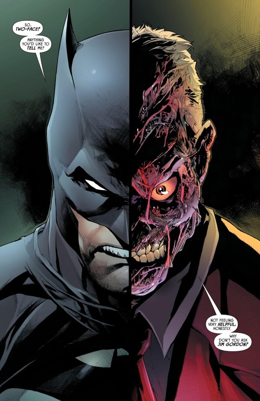 Batman And Two-Face (Detective Comics #990)