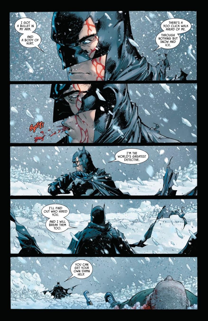 Batman Leaves KGBeast For Dead (Rebirth)