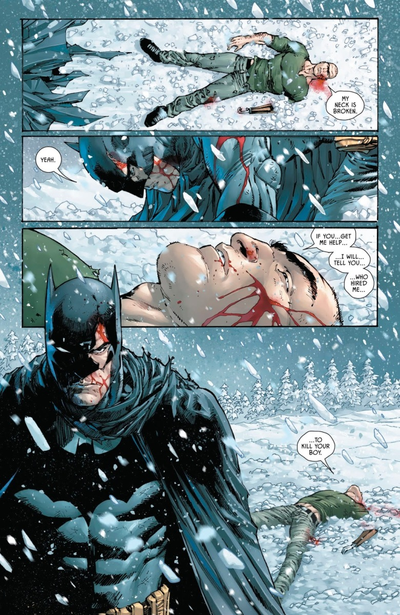 Batman Leaves KGBeast For Dead (Rebirth)