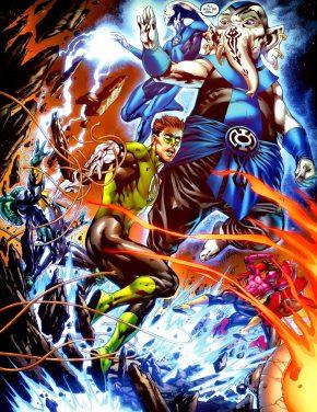 Blue Lantern Corps (Green Lantern Vol. 4 #37)