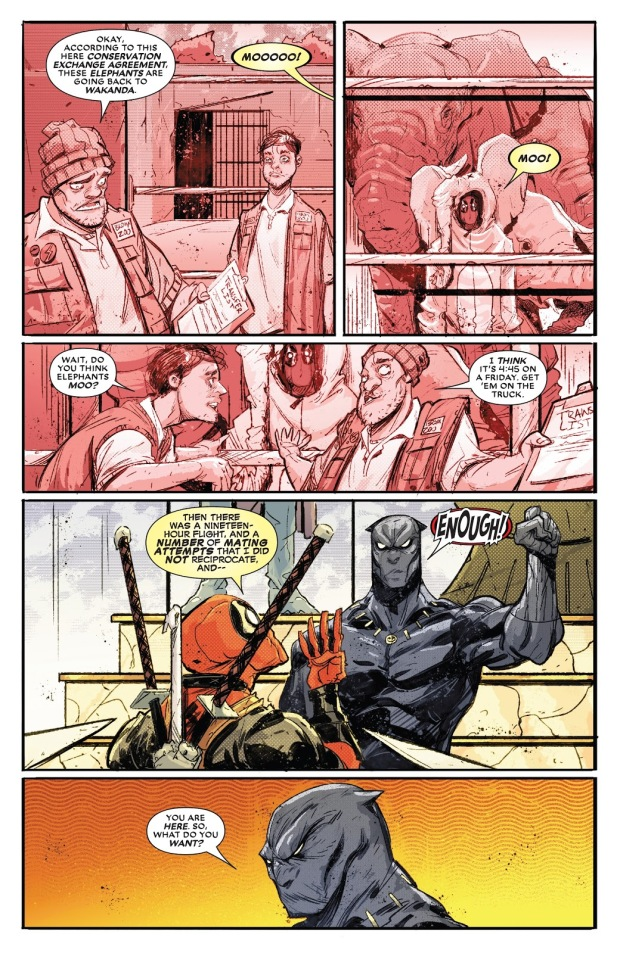 From - Black Panther VS Deadpool #1