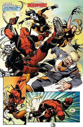 Deadpool VS Weapon X