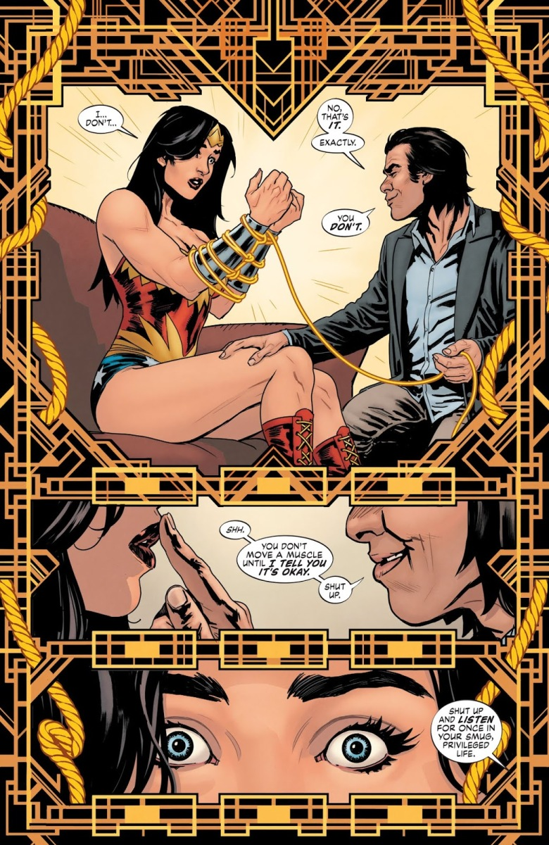 Doctor Psycho Mind Controls Wonder Woman (Earth One)