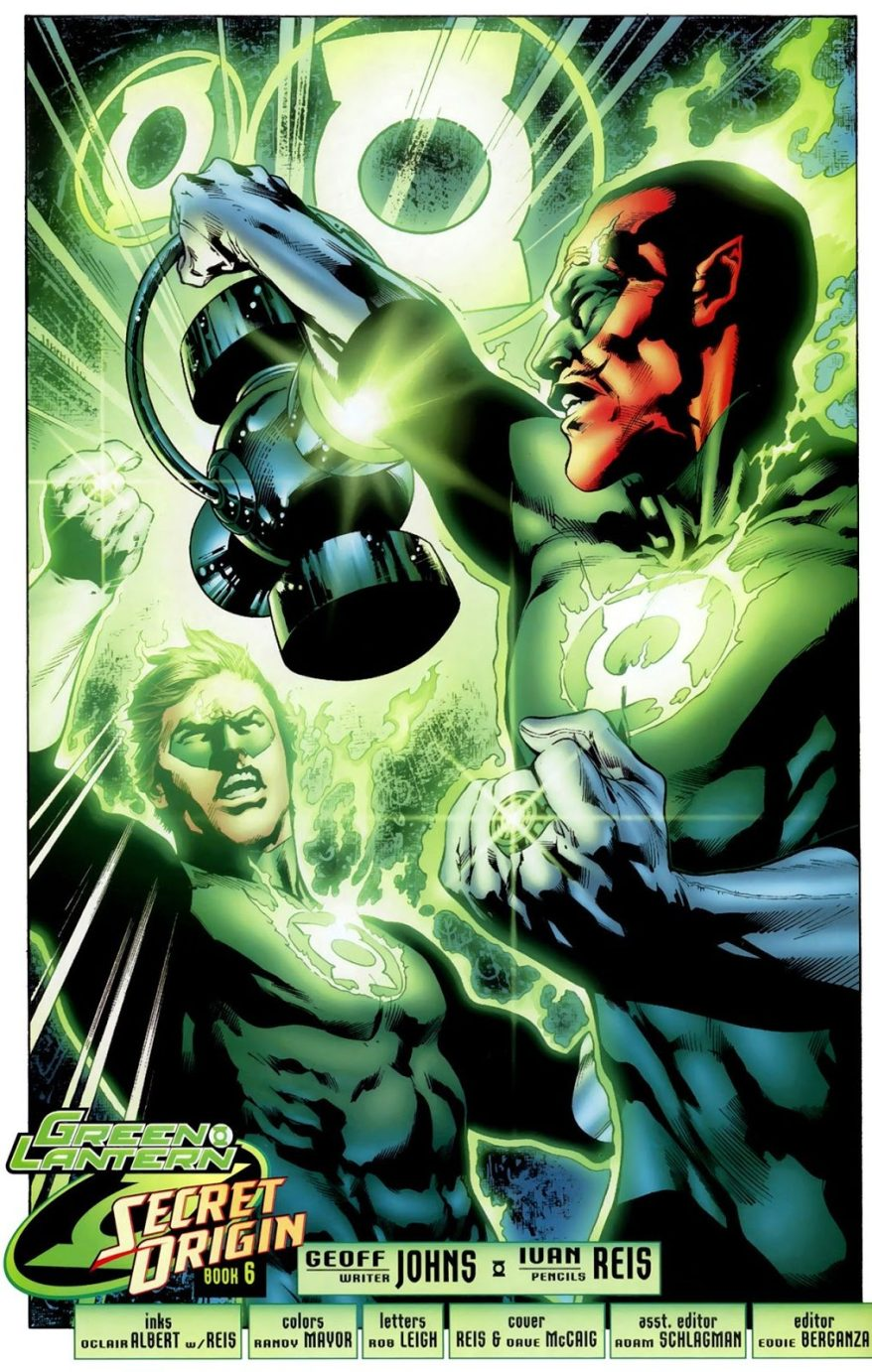 Hal Jordan And Sinestro (Green Lantern Vol. 4 #34))