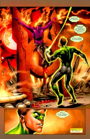 Hal Jordan And Sinestro (Green Lantern Vol. 4 #37)