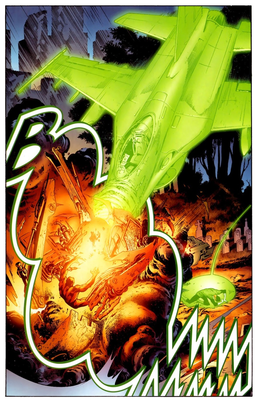 Hal Jordan And Sinestro VS Atrocitus (Secret Origin)