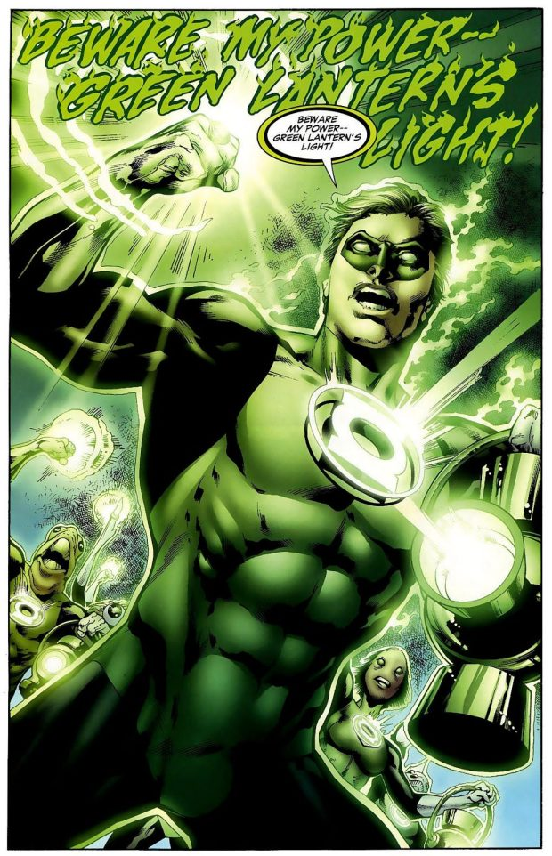 Hal Jordan Goes Through Kilowog's Bootcamp