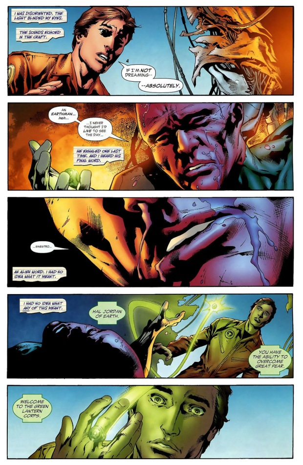 Hal Jordan Is Chosen By The Green Lantern Ring (Secret Origin)