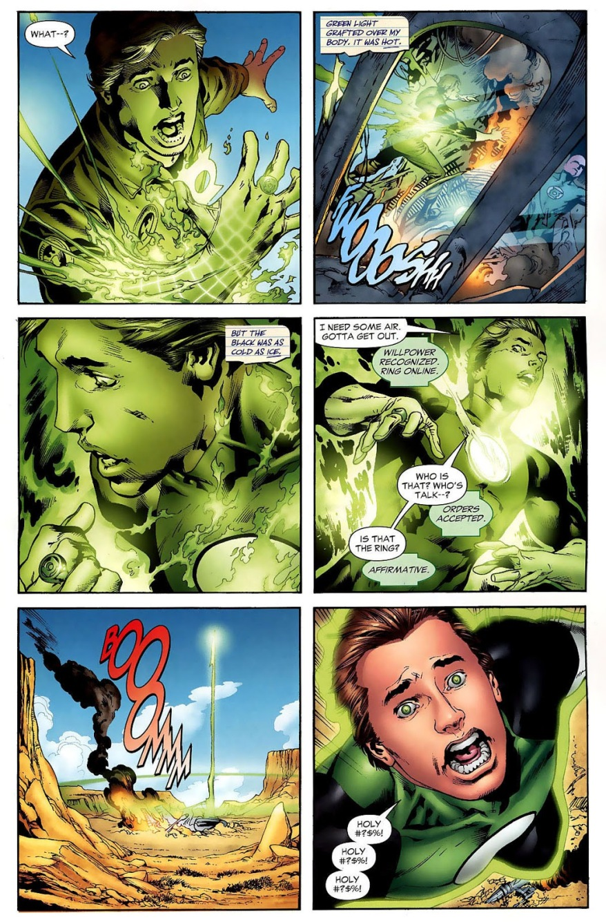 Hal Jordan Is Chosen By The Green Lantern Ring (Secret Origin)