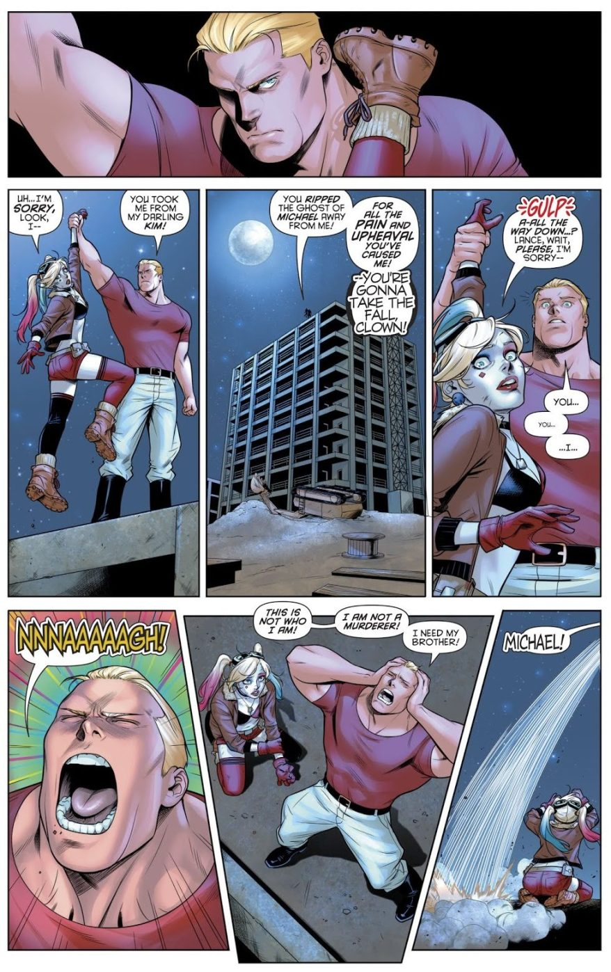Harley Quinn VS Captain Triumph