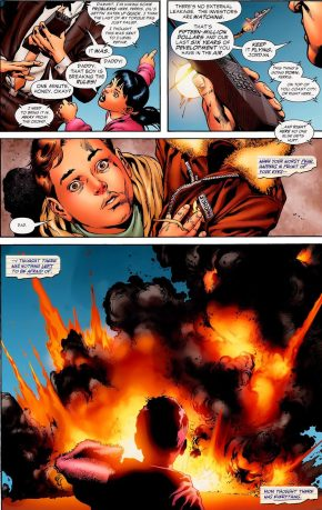 How Hal Jordan's Father Died (Secret Origin)