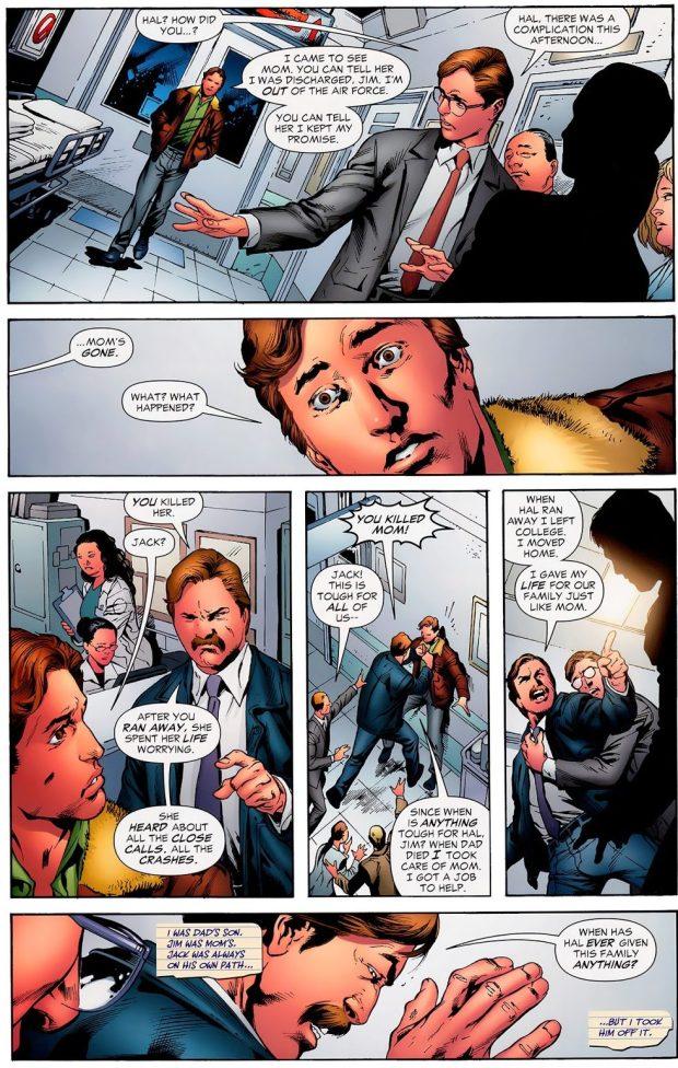 How Hal Jordan's Mother Died (Secret Origin)