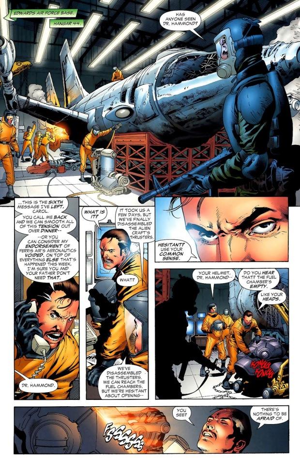 How Hector Hammond Got His Powers (Secret Origin)