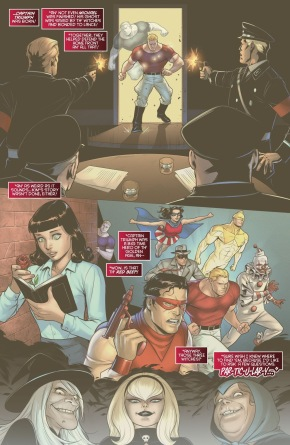 Origin Story Of Captain Triumph