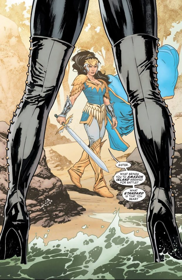Queen Hyppolita (Wonder Woman Earth One Vol 2)