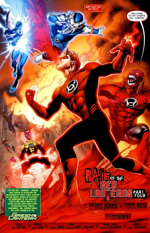 Red Lantern Hal Jordan (Green Lantern Vol. 4 #38)