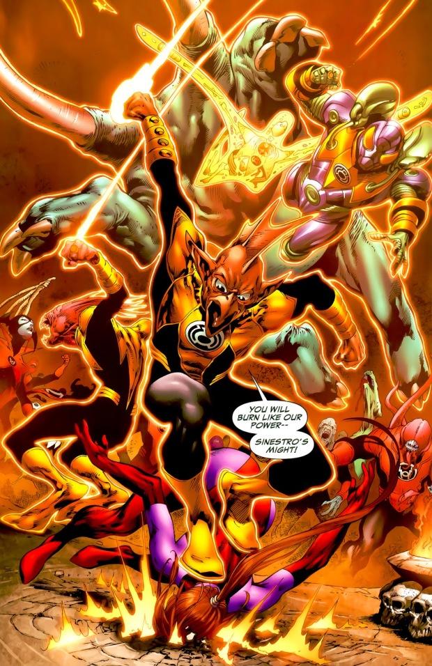 Sinestro Corps (Green Lantern Vol. 4 #37)