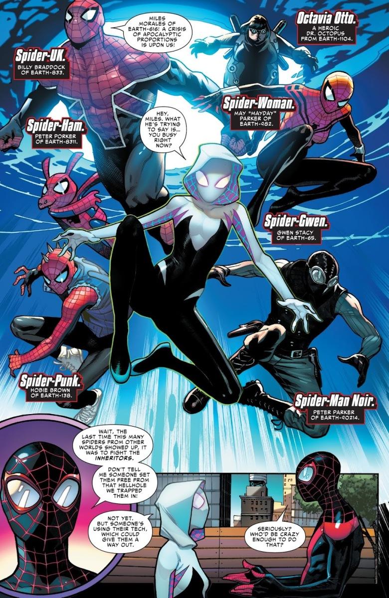 Spider Army Spider Geddon 1 Comicnewbies