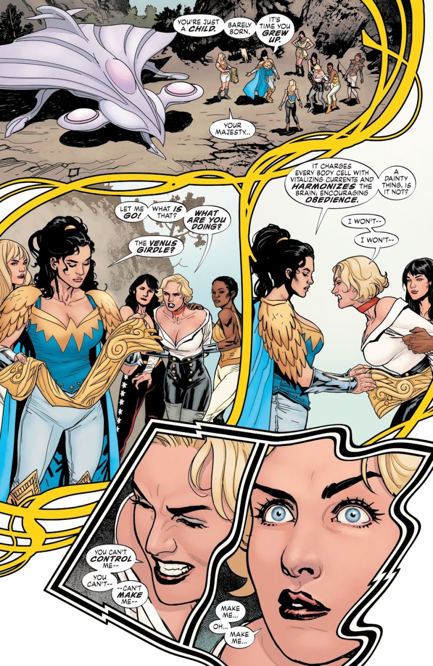 The Amazons Mind Control Uberfraulein (Earth One)