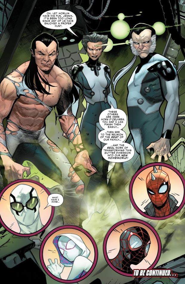 The Inheritors (Spider-Geddon #1)