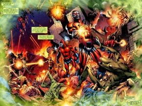 The Massacre Of Sector 666 (Secret Origin)