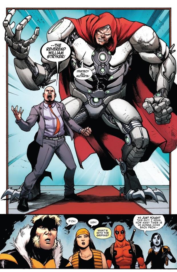 Weapon X VS Cyborg William Stryker