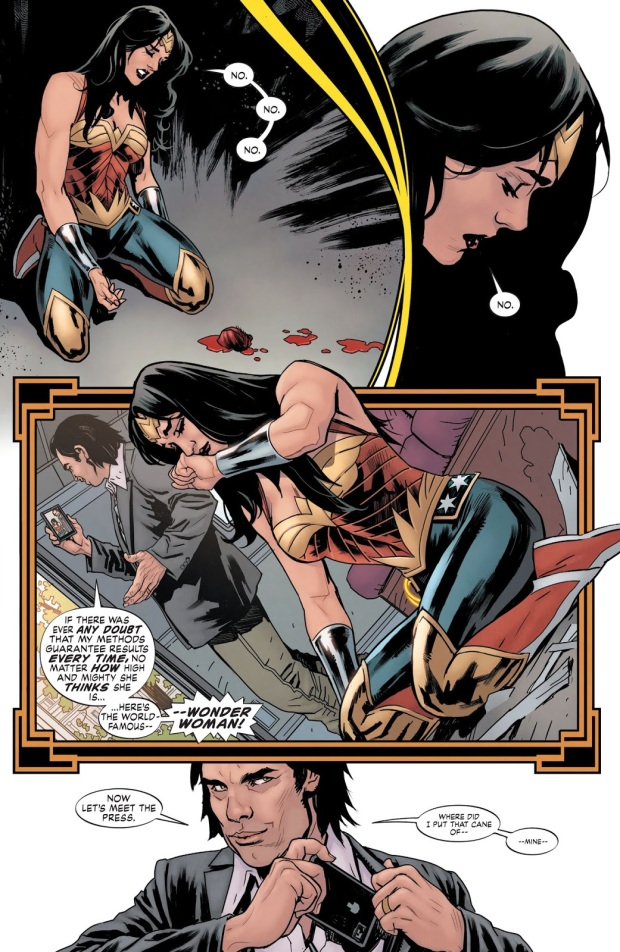 Wonder Woman VS Uberfraulein (Earth 1)