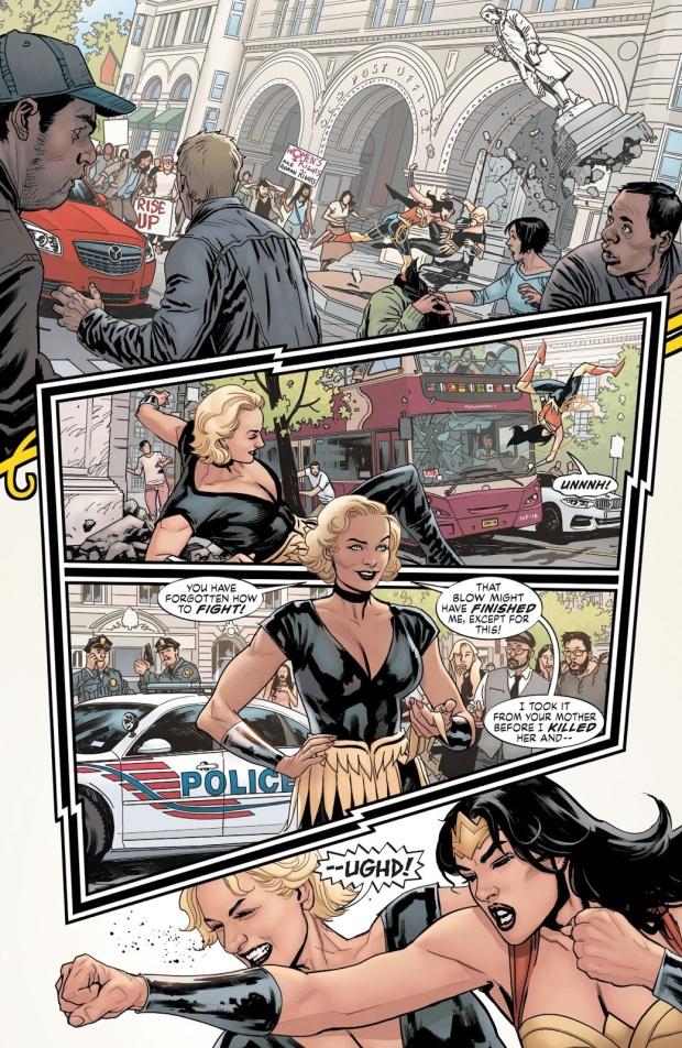 Wonder Woman VS Uberfraulein (Earth 1)