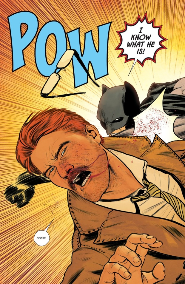 Batman Punches Jim Gordon