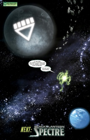 Black Lantern Xanshi (Green Lantern Vol. 4 #49)