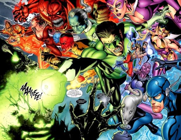 Blackest Night (Green Lantern Vol. 4 #50)