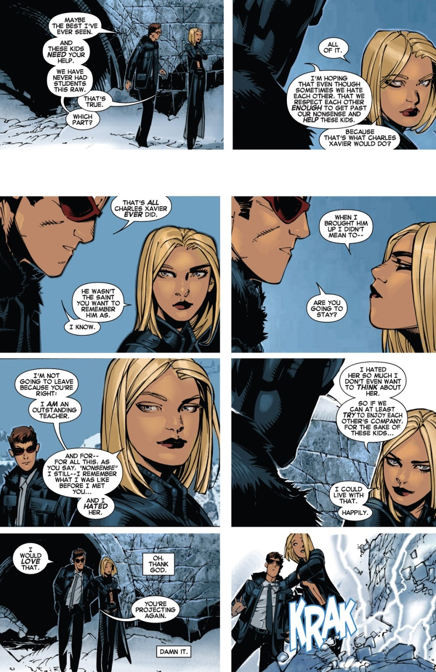 Cyclops And Emma Frost Break Up