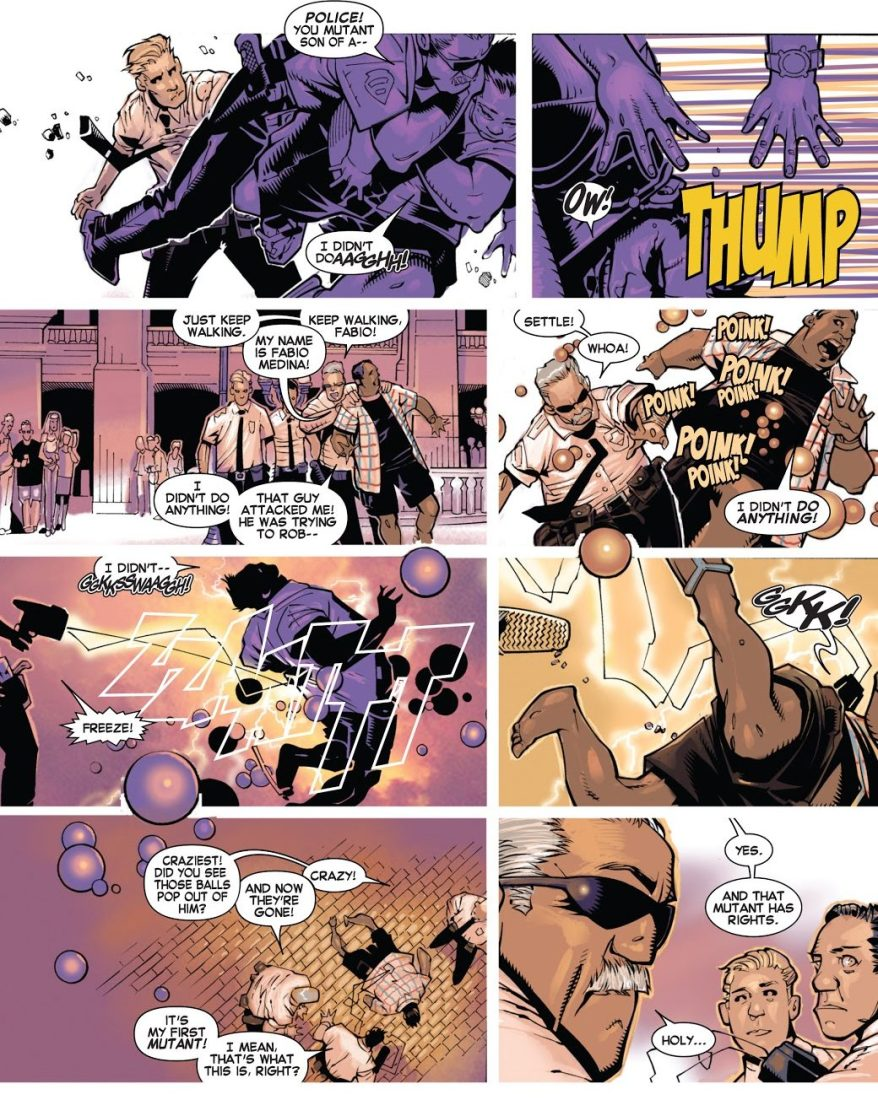 Cyclops Rescues Goldballs